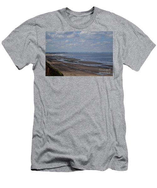 Redcar From A Distance Men's T-Shirt (Athletic Fit)
