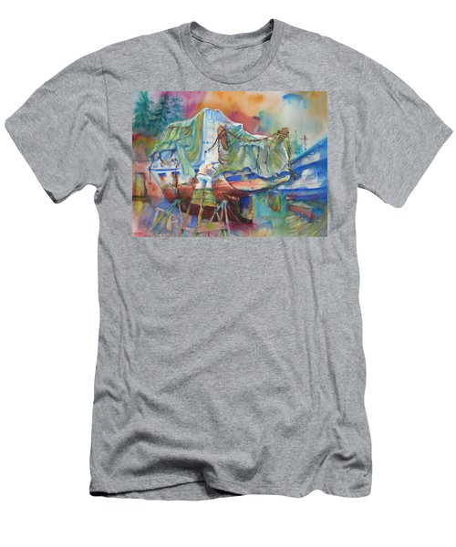 Redemption Ilwaco Wa Men's T-Shirt (Athletic Fit)