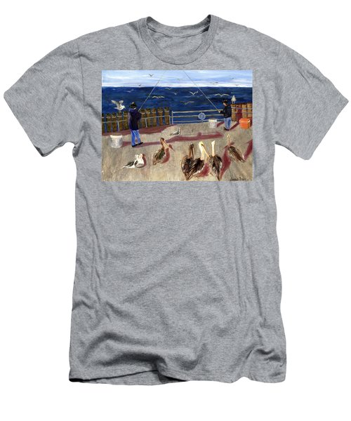 Redondo Beach Pelicans Men's T-Shirt (Athletic Fit)