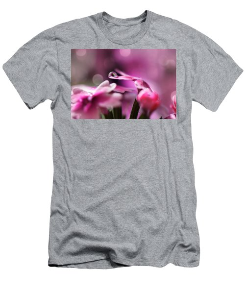 Reflecting On Pink Men's T-Shirt (Athletic Fit)