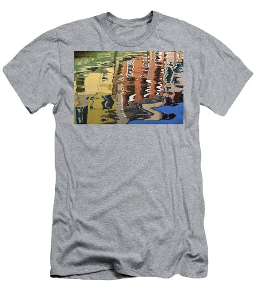 Reflection In A Venician Canal Men's T-Shirt (Athletic Fit)
