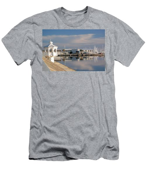 Men's T-Shirt (Slim Fit) featuring the photograph Reflection by Leticia Latocki