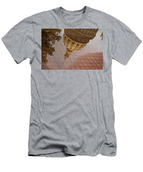 reflection of WV Men's T-Shirt (Slim Fit) by Shane Holsclaw