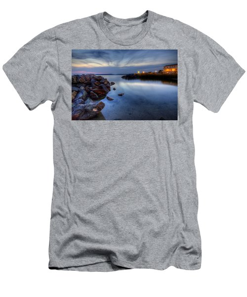 Rehoboth Bay Sunset At Dewey Beach Men's T-Shirt (Athletic Fit)