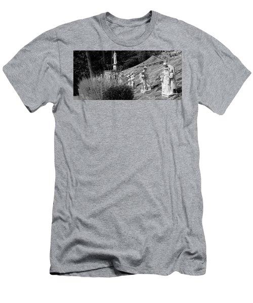 Religious Statues Men's T-Shirt (Athletic Fit)