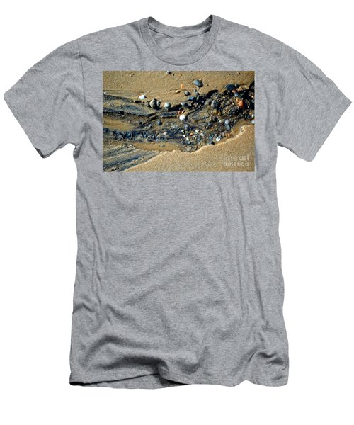 Men's T-Shirt (Athletic Fit) featuring the photograph Remants by Christiane Hellner-OBrien