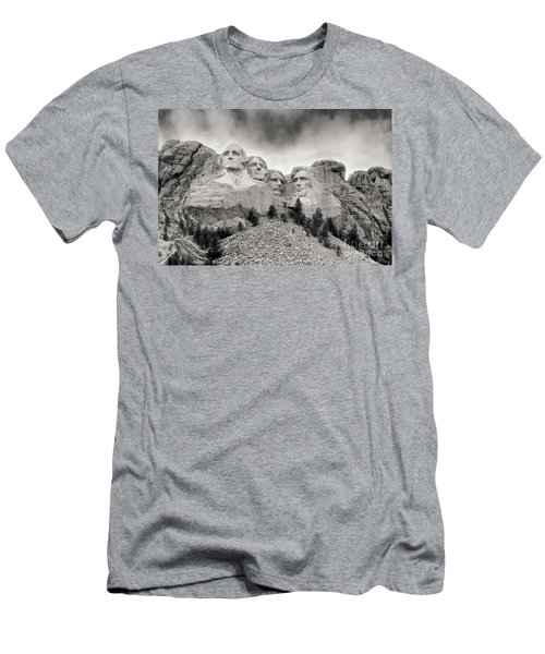 Remarkable Rushmore Men's T-Shirt (Slim Fit) by Erika Weber