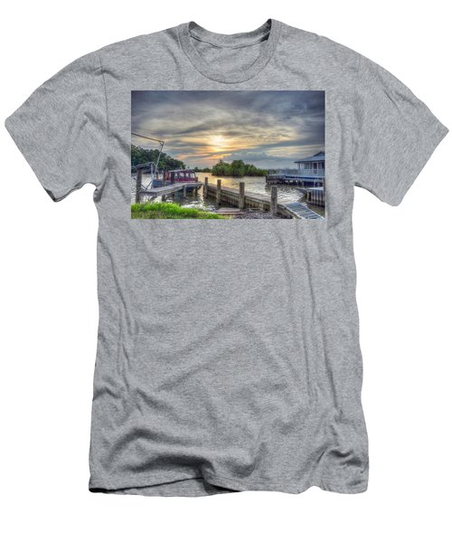 Men's T-Shirt (Slim Fit) featuring the photograph Remnants by Charlotte Schafer
