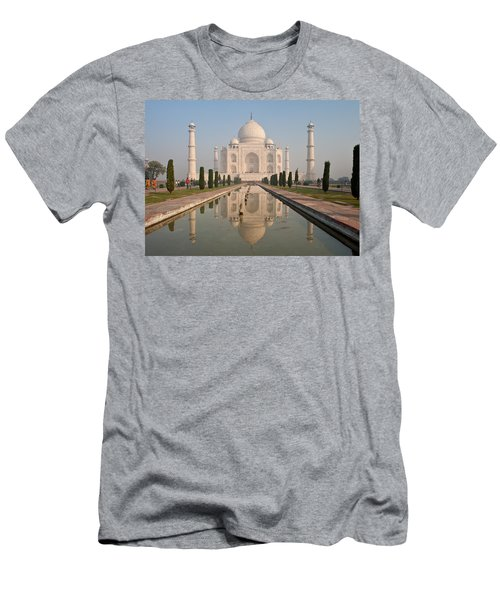 Resplendent Taj Mahal Men's T-Shirt (Slim Fit) by Mike Reid