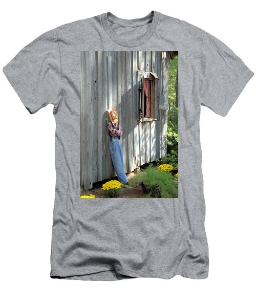 Men's T-Shirt (Slim Fit) featuring the photograph Resting by Gordon Elwell