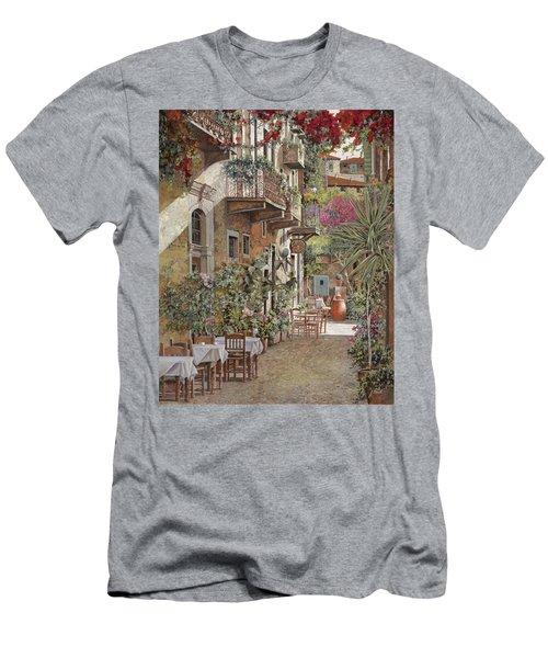Rethimnon-crete-greece Men's T-Shirt (Athletic Fit)