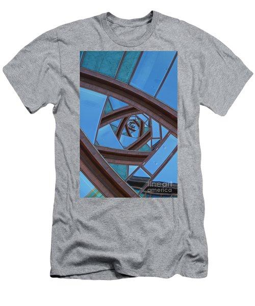 Revolving Blues. Men's T-Shirt (Athletic Fit)