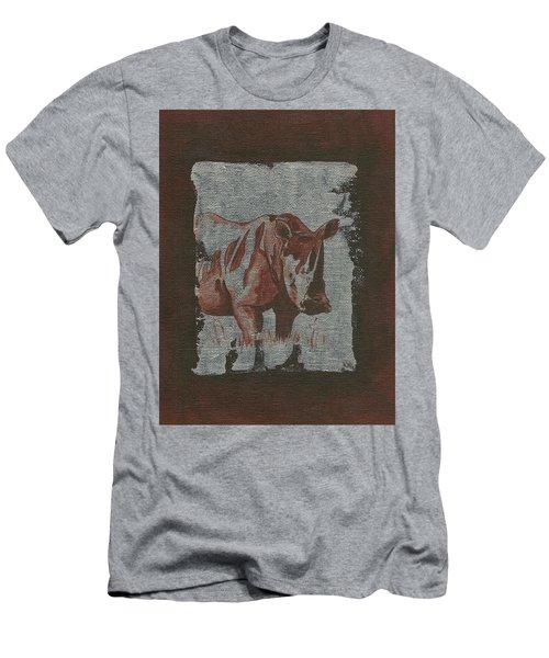 Rhinoceros Men's T-Shirt (Athletic Fit)