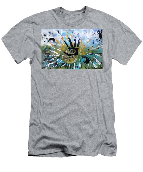 Rhythm Of Life Men's T-Shirt (Athletic Fit)