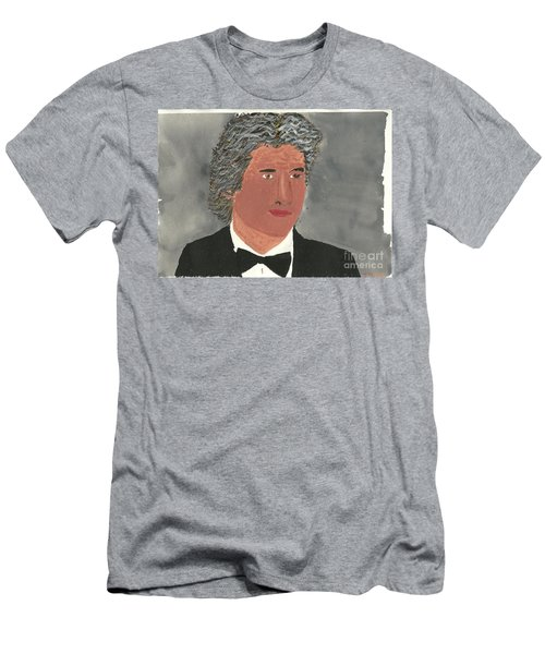 Men's T-Shirt (Slim Fit) featuring the painting Richard Gere by Tracey Williams