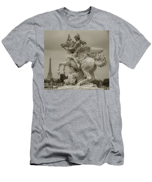 Riding Pegasis Men's T-Shirt (Athletic Fit)