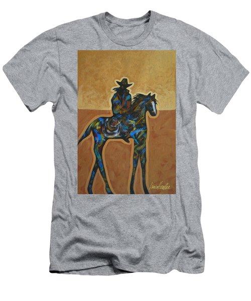 Riding Solo Men's T-Shirt (Athletic Fit)
