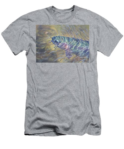 Rainbow Rising Men's T-Shirt (Athletic Fit)