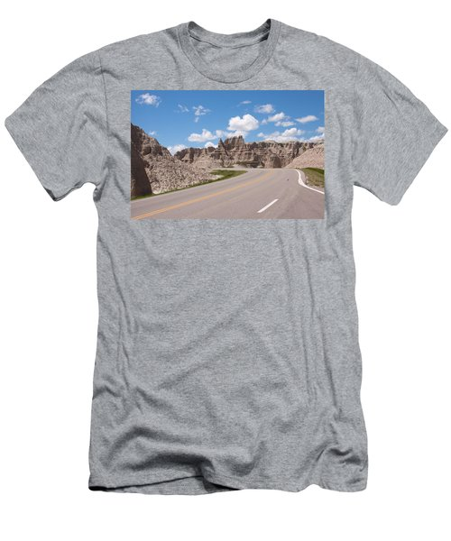 Road Through The Badlands Men's T-Shirt (Athletic Fit)