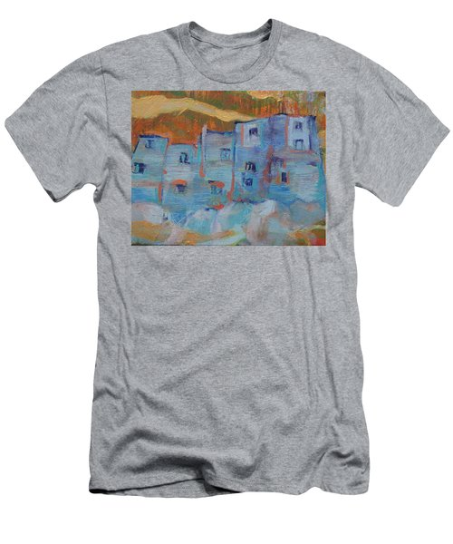Rock City Abstract Men's T-Shirt (Athletic Fit)