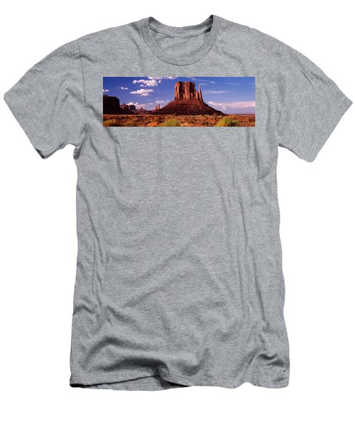 Rock Formations On A Landscape, The Men's T-Shirt (Athletic Fit)