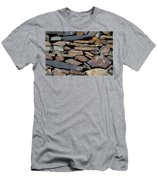 Rock Wall Of Slate Men's T-Shirt (Athletic Fit)