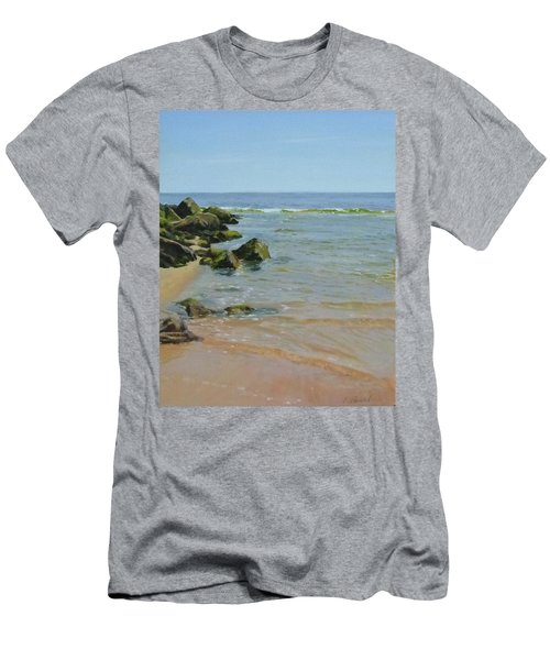 Rocks And Shallows Men's T-Shirt (Slim Fit)