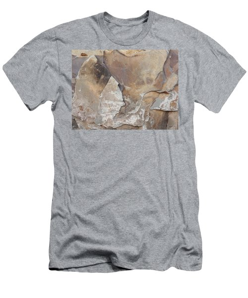 Men's T-Shirt (Slim Fit) featuring the photograph Rocky Edges by Jason Williamson