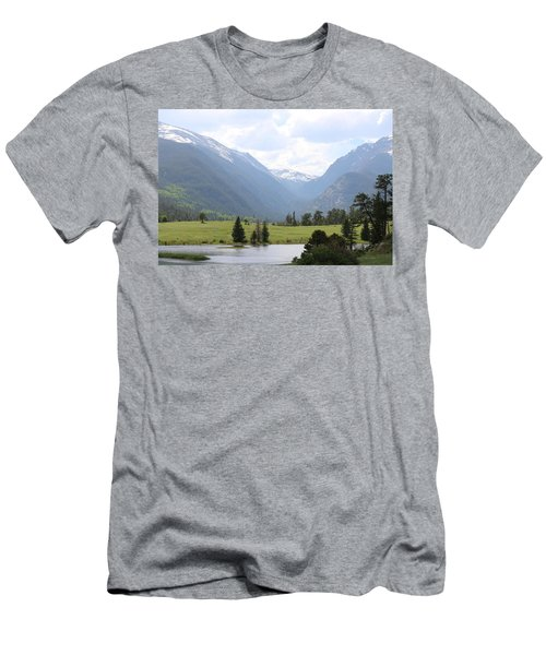 Rocky Mountain National Park  Men's T-Shirt (Athletic Fit)
