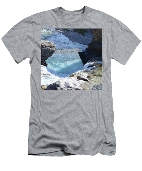 Elbow Falls Water  1.1 Men's T-Shirt (Athletic Fit)