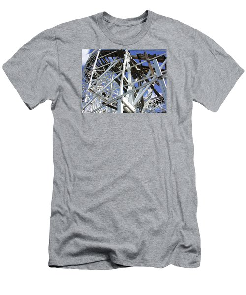 Roller Coaster Men's T-Shirt (Athletic Fit)