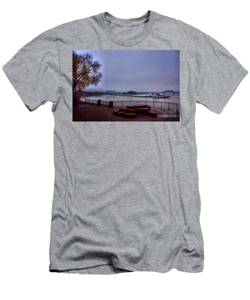 Men's T-Shirt (Slim Fit) featuring the photograph Rollin Onna River by Robert McCubbin