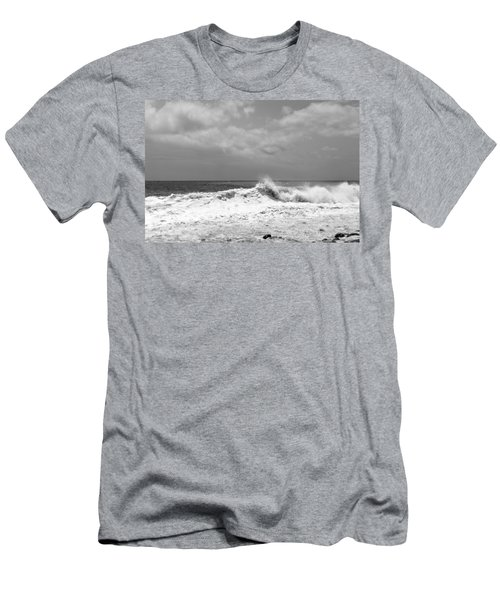 Rolling Surf  Men's T-Shirt (Athletic Fit)