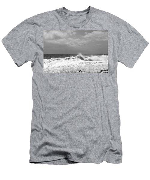 Rolling Surf  Men's T-Shirt (Athletic Fit)