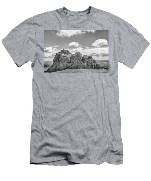 Men's T-Shirt (Athletic Fit) featuring the photograph Room On Top by Howard Salmon
