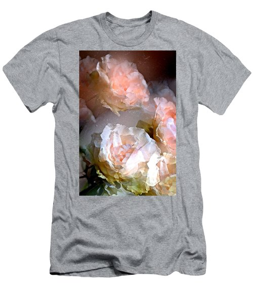Rose 154 Men's T-Shirt (Slim Fit) by Pamela Cooper