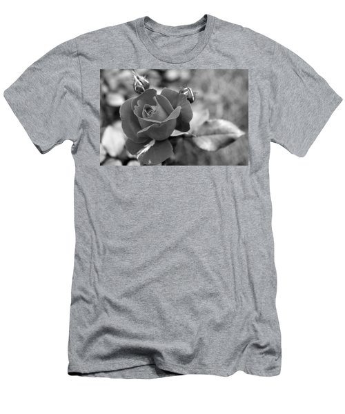 Rose Of Grace Men's T-Shirt (Slim Fit) by Faith Williams
