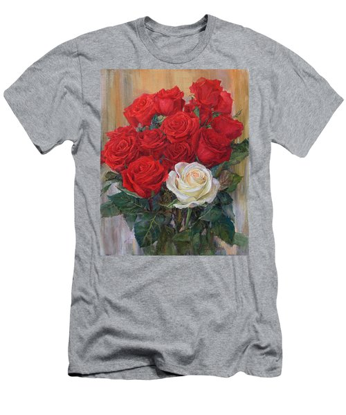 Roses For You Men's T-Shirt (Athletic Fit)
