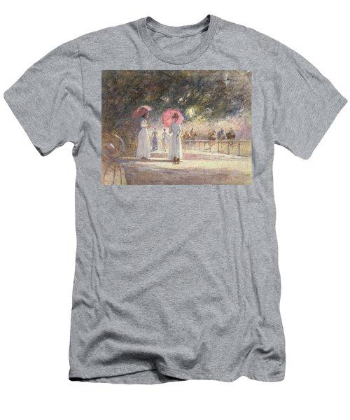Rotten Row Men's T-Shirt (Slim Fit) by Harry Fidler