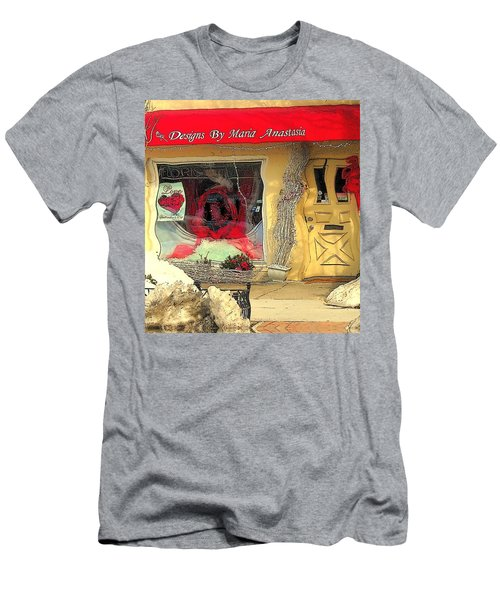 Rouge On The Rue Men's T-Shirt (Slim Fit) by Tami Quigley