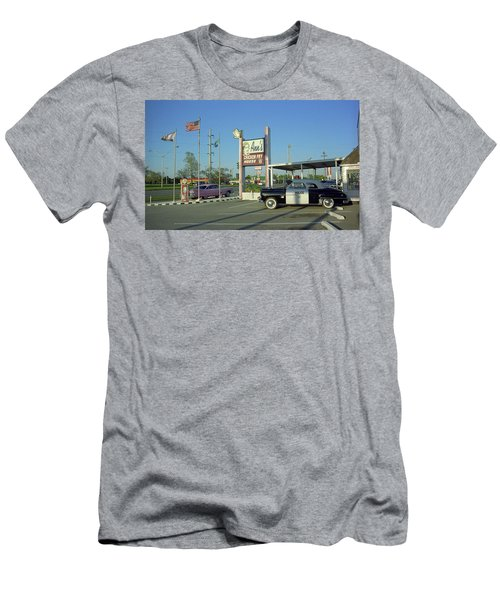 Route 66 - Anns Chicken Fry House Men's T-Shirt (Athletic Fit)