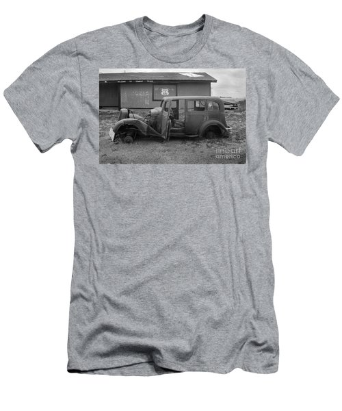 Route 66 Travels Men's T-Shirt (Athletic Fit)