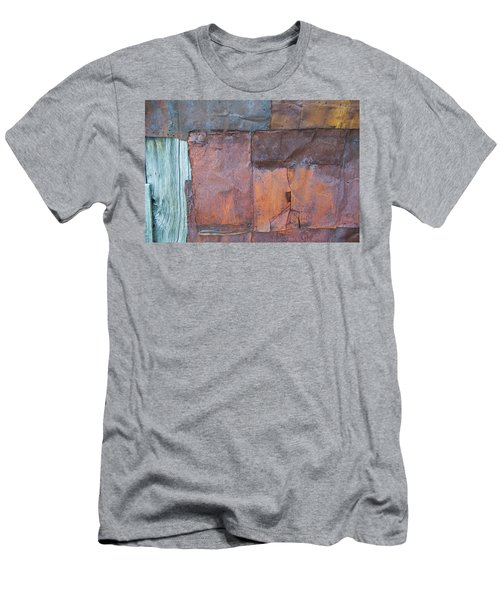 Rust Squared Men's T-Shirt (Athletic Fit)