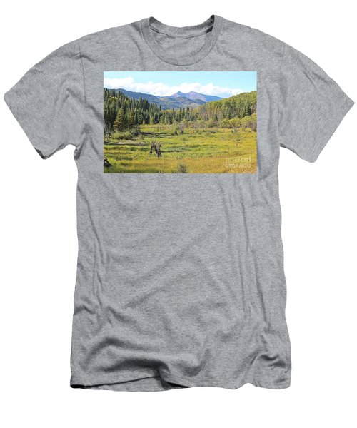 Saddle Mountain Men's T-Shirt (Athletic Fit)