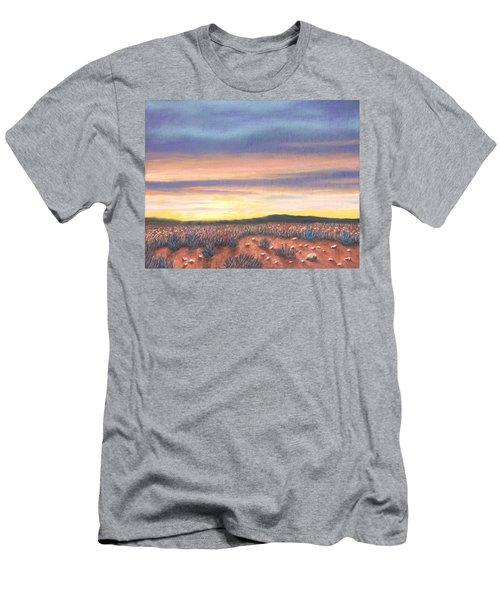 Sagebrush Sunset B Men's T-Shirt (Athletic Fit)