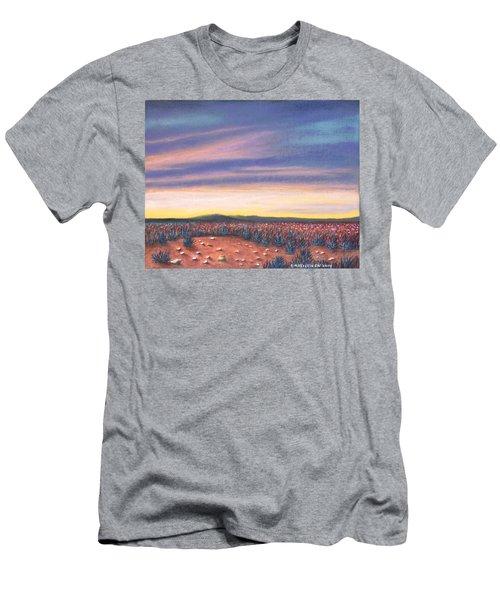 Sagebrush Sunset C Men's T-Shirt (Athletic Fit)