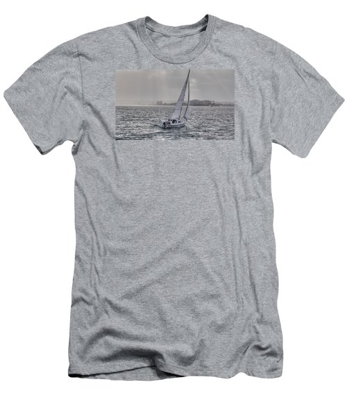 Sailing Bliss  Men's T-Shirt (Athletic Fit)