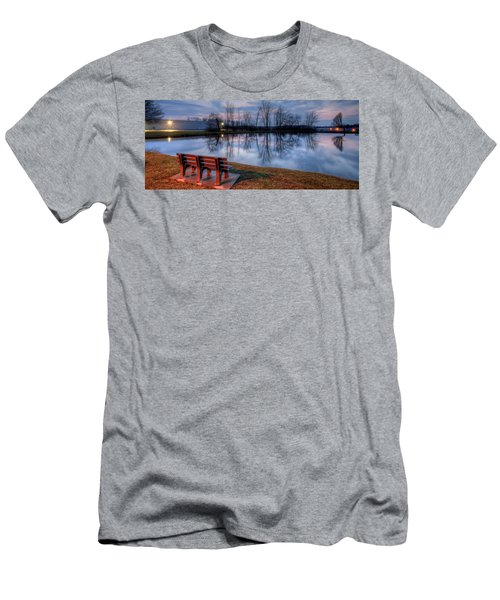 Salem Ohio Industrial Park Sunset Men's T-Shirt (Athletic Fit)