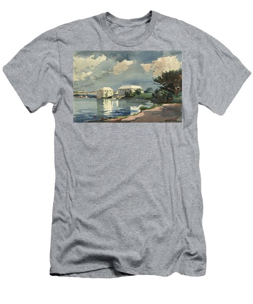 Salt Kettle Bermuda Men's T-Shirt (Athletic Fit)