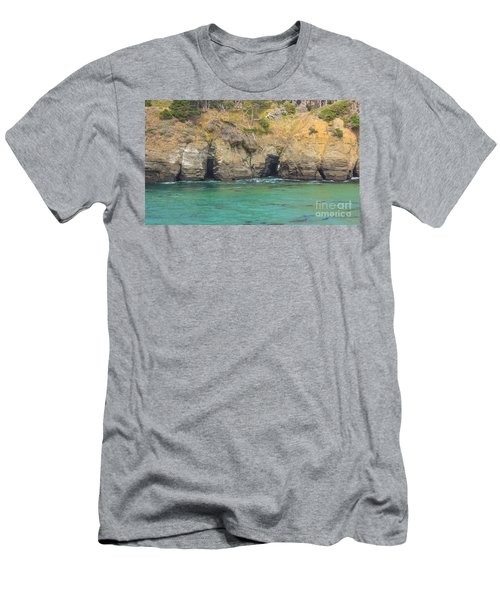 Salt Point Sea Caves Men's T-Shirt (Athletic Fit)
